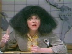 Roseanne Roseannadanna by Gilda Radner on Saturday Night Live