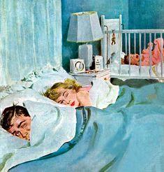 Saturday Evening Post Illustrated by Coby Whitmore Vintage Romance, Vintage Ads, Romance Art, Legos, Retro Housewife, Saturday Evening Post, Ad Art, Pulp Art, Retro Art
