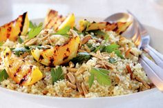 Turn a few basic fridge and pantry items into this tasty, low-kilojoule couscous side dish.