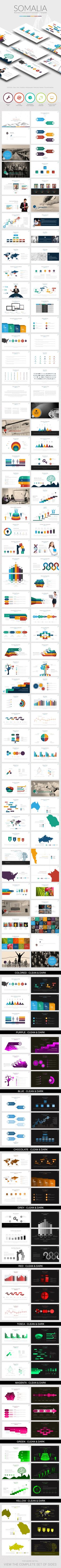 Somalia Powerpoint Presentation Template #design #slides Download: http://graphicriver.net/item/somalia-powerpointtemplate/13468869?ref=ksioks