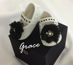 crib shoemary janesbaby shoesglitter by totallycouture on Etsy, $20.00