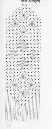 renda de bilros / bobbin lace marcadores / bookmarks
