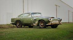 V lese našli vzácný Aston za miliony - Obrázek 2