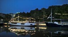 Turku jokilaivat Aura-joki jokiranta