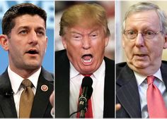 IT ISN'T OFTEN YOU GET TO SEE KARMA AT WORK. Republicans so richly deserve the Utter Chaos and Destruction Trump is bestowed upon them!! If you can remember, Mitch McConnell, John Boehner and Our Criminal Republican Congress open the Floodgates of Bigotry, Disrespect and Division when they made it OK to go after and disrespect our first Black President. Those same Teabags/Trumpets they recruited are Out of Control and behind Trump!! KARMA!!