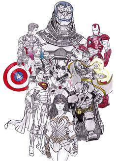 2016 comic book movies ❤️