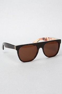 e4e30922ff7 Super Sunglasses Flat Top in Havana and Rebecca