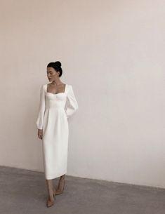 Casual Dresses, Fashion Dresses, Looks Vintage, Mode Outfits, Mode Inspiration, Classy Outfits, Dream Dress, Pretty Dresses, Bridal Dresses