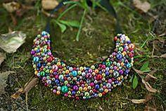 Náhrdelníky - Perličky explózia farieb  - 5753511_