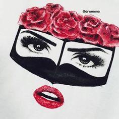 Sarra Art, Girl Drawing Easy, Ramadan Crafts, Arabic Art, Emoji Wallpaper, Graduation Photos, Mecca, Coffee Art, Calligraphy Art