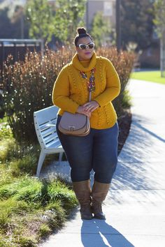 GarnerStyle | The Curvy Girl Guide: Tips for Dressing Well - Casual