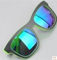 NEW 2015 Fashion Retro Cool Designer Sunglasses Men and Women designer Sun glasses vintage Eyewear outdoor sports fishing eyeglasses Green