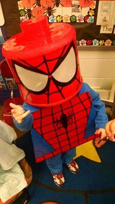 #Marvel #Lego #Spiderman #Halloween  #Costume! That my husband and I made. #diy #handmade