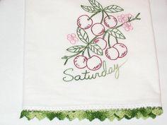 Cherries on Saturday.