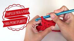 Trapillo Paso a Paso para Principiantes- Puntos Básicos - Videotutorial en Español aquí: http://www.missdiy.es/trapillo-paso-paso-para-principiantes-puntos-basicos/                                                                                                                                                     Más