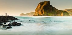 Piha, North Island, New Zealand
