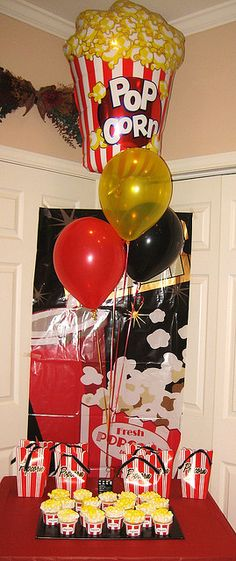 Movie party decorations