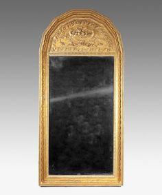 A 19th Century giltwood pier glass.  Circa: 1815