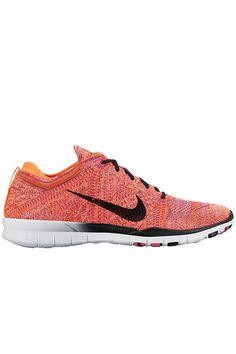d73264547421 Nike Free TR Flyknit - Bright Citrus   Black - Pink Pow Nike Free Flyknit