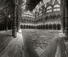 Abandoned Chamber of commerce in Belgium by odin's_raven