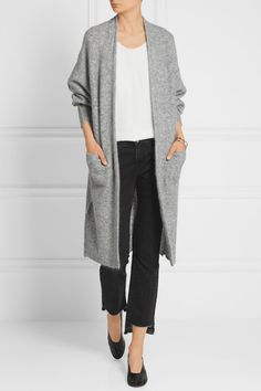 By Malene Birger | Dittelis stretch-knit cardigan | NET-A-PORTER.COM