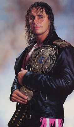 "Bret ""The Hitman"" Hart."
