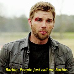 #1 - Mike Vogel aka Barbie Under The Dome 2013.