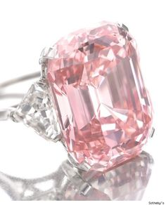 24.78 carats, sold at an auction by Sotheby's for $46 million!
