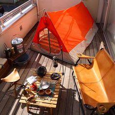 Camping Store, Camping Glamping, Diy Camping, Camping Gear, Outdoor Camping, Tent Tarp, Tents, Roof Design, Balcony Design