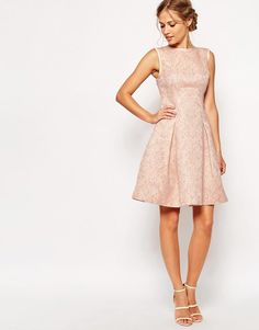 Ted Baker | Ted Baker Dress in Jacquard at ASOS