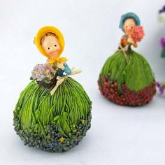 Lavender Flower Fairy doll ornaments resin decorations crafts ornaments set on TradeTang.com