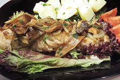 Sumec na lesnický způsob Steak, Pork, Fish, Kale Stir Fry, Pisces, Steaks, Pork Chops