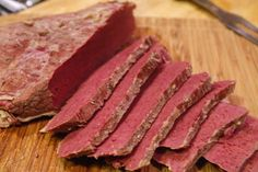 HOMEMADE CORNED BEEF - from just plain beef, through brining, to ...