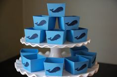Whale Candy Cups Whale Favors Whale Party by GiggleBees on Etsy, $12.00