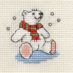 Polar Bear Cross Stitch Kit: Cross stitch (Mouseloft, 014-H32stl)