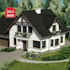 Plane,Projekte dhe Ndertim per Shtepi Home Building Design, Home Design Plans, Building A House, Cottage House Plans, Cottage Homes, Villa Design, Modern House Design, Front Porch Steps, Sims House Plans