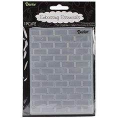 Darice Embossing Folder, 4.25 by 5.75-Inch, Brick Pattern, http://www.amazon.com/dp/B00DV69WE0/ref=cm_sw_r_pi_awdm_j0.Uwb0VMTEDY