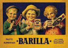 Manifesto pubblicitario della pasta Barilla a cura di Thomas Th. Wurgel, 1926