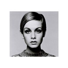 100 popular: Twiggy Hairstyle 60s ❤ liked on Polyvore featuring photos