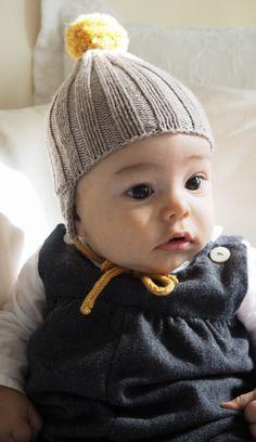 Babyhaube Chinchilla, Knitted Hats, Crochet Hats, Beanie, Baby Kind, Knitting, Babys, Blog, Fashion