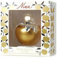 "Nina Ricci ""Nina Gold Edition"" Nina Ricci Parfum, Nina Gold, Perfume Bottles, Google, Accessories, Perfume Bottle"