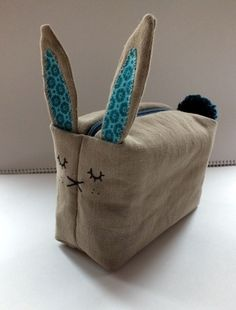 Bunny pencil case. Nx
