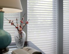 Loving these sheer horizontal shades, they are a soft and sophisticated addition to any space. Beautiful Blinds, Aluminum Blinds, Sheer Shades, Horizontal Blinds, Sheer Blinds, Custom Blinds, Faux Wood Blinds, Light Filter, Blinds For Windows