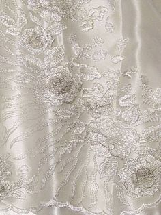 Venice Embroidered Kelly Green Lace Fabric for Wedding Lace Bridal Elegant Dress Fabric