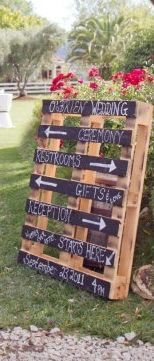 wood palette signage the wedding day yours you like palette art