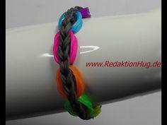 Loom Bands ohne Rainbow Loom Anleitung Deutsch A 24