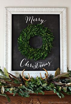 MyBellaBug : Ten Christmas Mantel & Decor Ideas