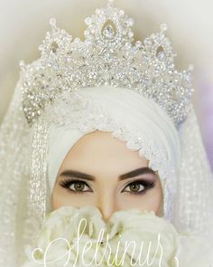 All religions are considered a way of life, including religion Islam. We all know that Muslims are the believers of Islam. Muslim Wedding Gown, Malay Wedding Dress, Hijabi Wedding, Wedding Hijab Styles, Muslimah Wedding Dress, Muslim Wedding Dresses, Muslim Brides, V Neck Wedding Dress, Wedding Dresses For Girls
