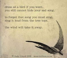 sing in the wind