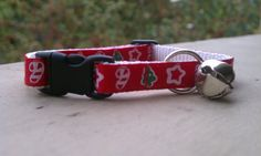 Christmas Shapes  Breakaway Adjustable Cat Collar by TheEmPURRium, $8.25
